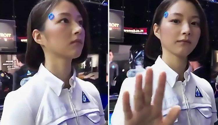 الروبوت البشري