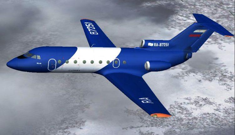 طائرة مدنية صغيرة واعدة بأنامل سيبيرية
