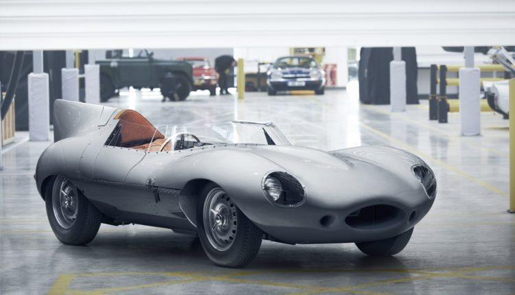 جاكوار تعاود إنتاج سيارة السباق الأسطورية D-TYPE