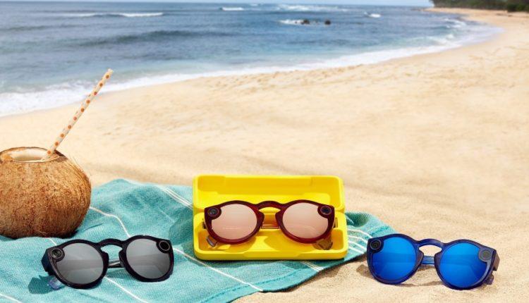 نظارة التصوير الشمسية المدعومة بالكاميرا Spectacles