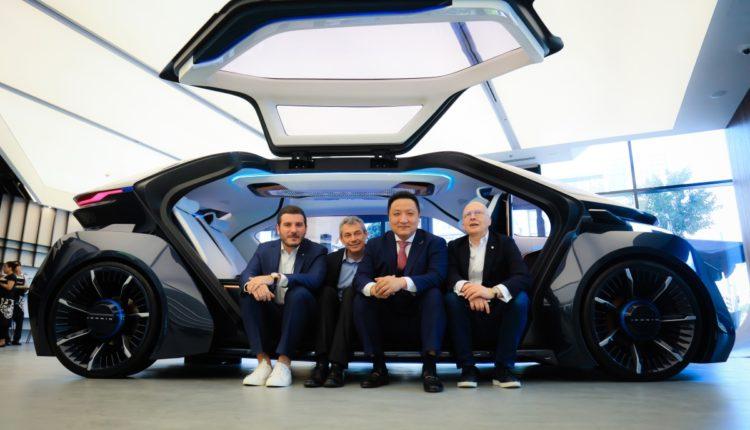 W Motors تكشف عن سيارة MUSE الكهربائية بالكامل