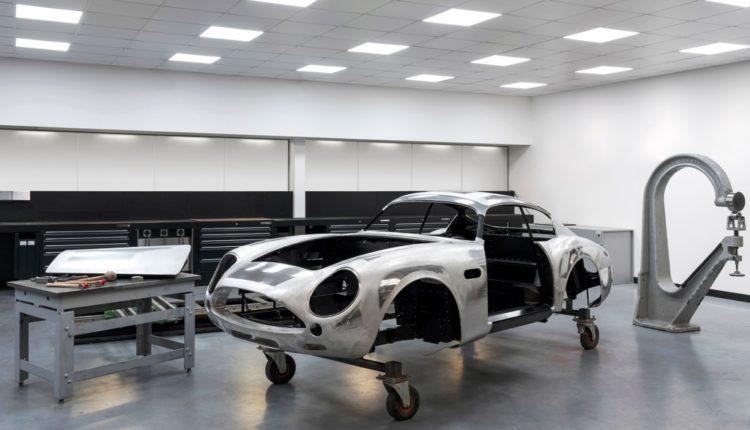 سيارة دي بي 4 جي تي زاغاتو الجديدة- خط الإنتاج في المصنع