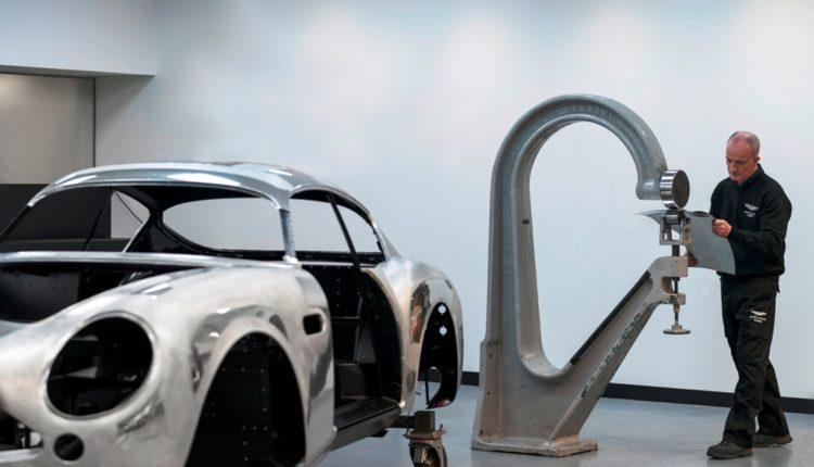 سيارة دي بي 4 جي تي زاغاتو الجديدة- خط الإنتاج