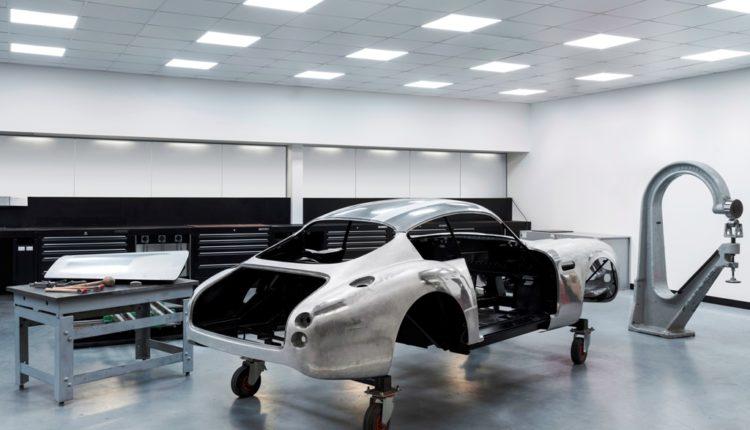 سيارة دي بي 4 جي تي زاغاتو الجديدة- في المصنع