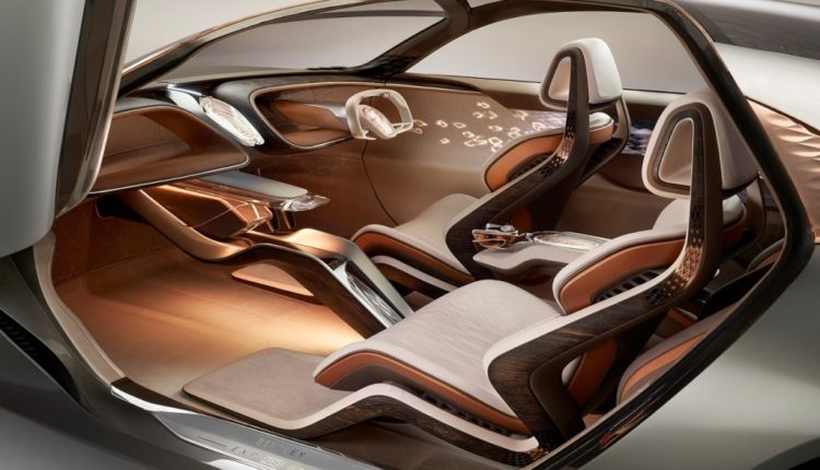 Bentley EXP 100 GT Concept Car -OPEN DOOR