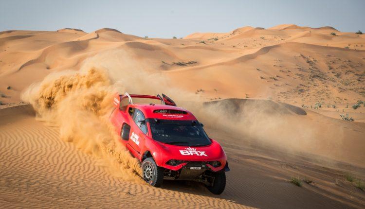 فريق البحرين رايد إكستريم يكشف النقاب عن سيارته هانتر المخصصة لرالي داكار 2021