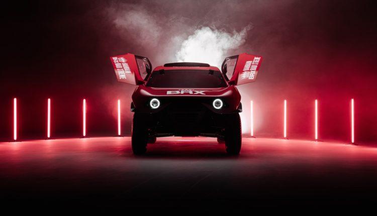 فريق البحرين رايد إكستريم يكشف النقاب عن سيارته هانتر المخصصة لرالي داكار