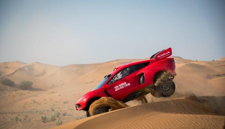 فريق البحرين رايد إكستريم يكشف النقاب عن سيارته هانتر