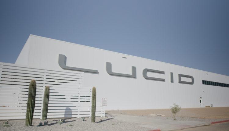 لوسيد موتورز تباشر عمليات البناء في أول مصانعها الجديدة في أمريكا الشمالية