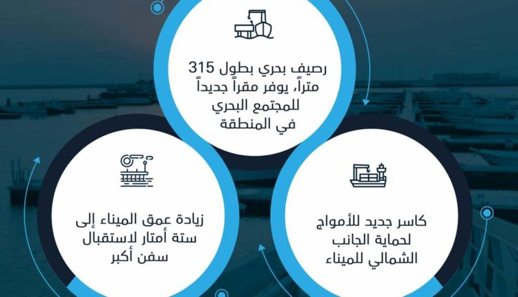مشروع تطوير ميناء دلما