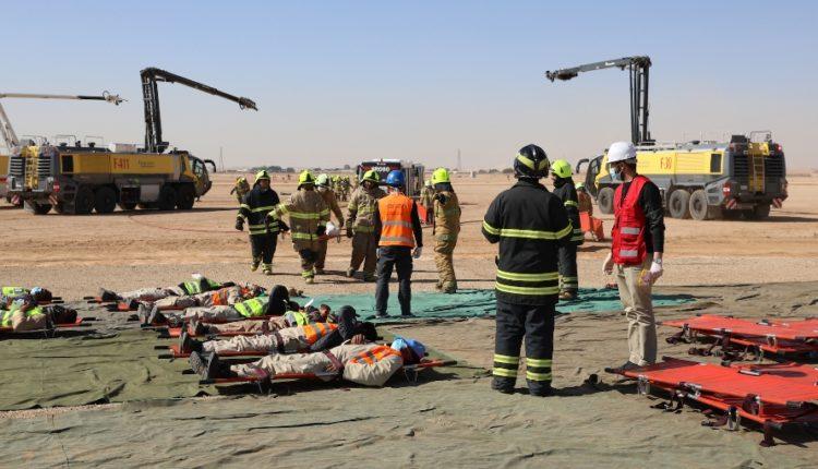 مطار الملك خالد الدولي في العاصمة السعودية