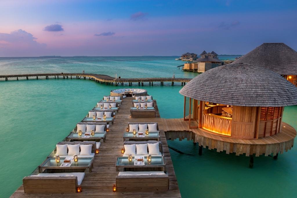 منتجع سونيفا جاني في المالديف يزهو بمجموعة جديدة من الفلل المائية الفاخرة